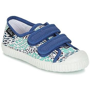 鞋子 男孩 球鞋基本款 Aster MICKY 白色 / 蓝色