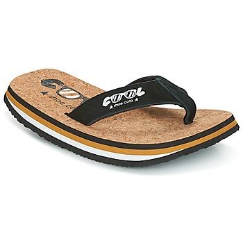 鞋子 男士 人字拖 Cool shoe ORIGINAL 黑色 / 驼色