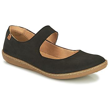 鞋子 女士 平底鞋 El Naturalista CORAL 黑色