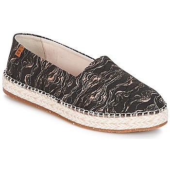 鞋子 女士 帆布便鞋 El Naturalista SEAWEED CANVAS 黑色 / 灰色
