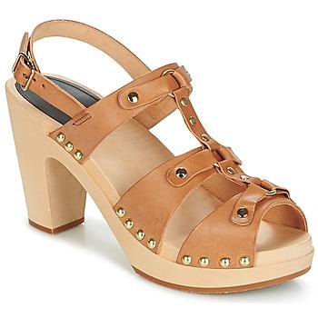 鞋子 女士 凉鞋 Swedish hasbeens BRASSY 驼色