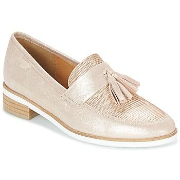 鞋子 女士 皮便鞋 KARSTON JICOLO 金色