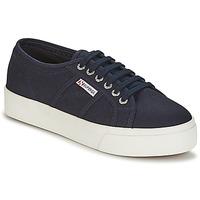 鞋子 女士 球鞋基本款 Superga 2730 COTU 海蓝色 / 白色