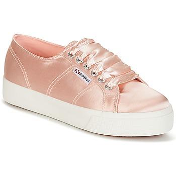 鞋子 女士 球鞋基本款 Superga 2730 SATIN W 玫瑰色
