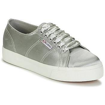 鞋子 女士 球鞋基本款 Superga 2730 SATIN W 灰色