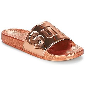 鞋子 女士 休闲凉拖/沙滩鞋 Superga 1908 PUNE TU 玫瑰色 / 金色