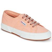 鞋子 女士 球鞋基本款 Superga 2750 CLASSIC SUPER GIRL EXCLUSIVE 玫瑰色