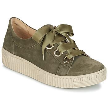 鞋子 女士 球鞋基本款 Gabor 嘉宝 BOSER 卡其色