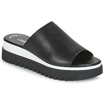鞋子 女士 休闲凉拖/沙滩鞋 Gabor 嘉宝 SORIEUX 黑色 / 白色