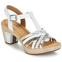 鞋子 女士 凉鞋 Gabor 嘉宝 MASTIAR 白色 / 银色