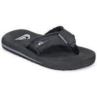 鞋子 儿童 人字拖 Quiksilver 极速骑板 MONKEY ABYSS YT B SNDL XKKC 黑色