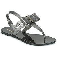 鞋子 女士 凉鞋 Zaxy GLAZE SAND AD 银灰色 / 黑色