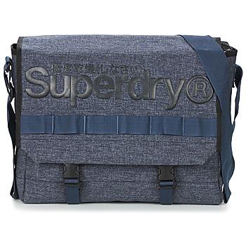 包 斜背单肩包 Superdry 极度干燥 MERCHANT MESSENGER BAG 海蓝色