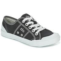 鞋子 女士 球鞋基本款 TBS OPIACE 黑色