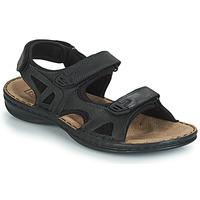 鞋子 男士 涼鞋 TBS BERRIC 黑色