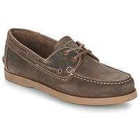 鞋子 男士 船鞋 TBS PHENIS 棕色