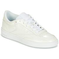 鞋子 女士 球鞋基本款 Reebok Classic CLUB C 85 PATENT 白色