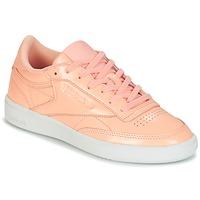鞋子 女士 球鞋基本款 Reebok Classic CLUB C 85 PATENT 玫瑰色