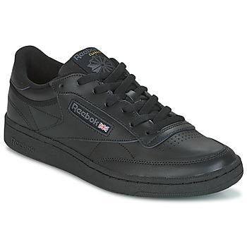 鞋子 球鞋基本款 Reebok Classic CLUB C 85 黑色