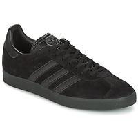 鞋子 男士 球鞋基本款 Adidas Originals 阿迪达斯三叶草 GAZELLE 黑色