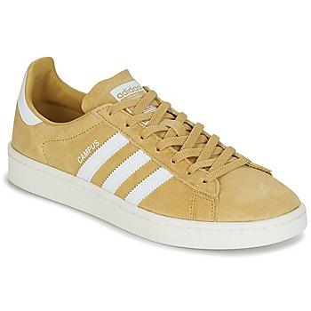 鞋子 球鞋基本款 Adidas Originals 阿迪达斯三叶草 CAMPUS 黄色