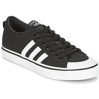 鞋子 球鞋基本款 Adidas Originals 阿迪达斯三叶草 NIZZA 黑色