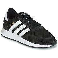 鞋子 球鞋基本款 Adidas Originals 阿迪达斯三叶草 INIKI RUNNER CLS 黑色