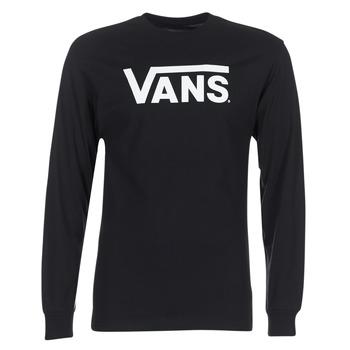衣服 男士 长袖T恤 Vans 范斯 VANS CLASSIC 黑色