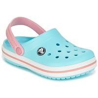鞋子 儿童 洞洞鞋/圆头拖鞋 crocs 卡骆驰 Crocband Clog Kids 蓝色 / 玫瑰色