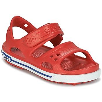 鞋子 儿童 凉鞋 crocs 卡骆驰 CROCBAND II SANDAL PS 红色