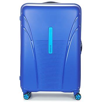 包 硬壳行李箱 American Tourister SKYTRACER 77CM 4R 蓝色