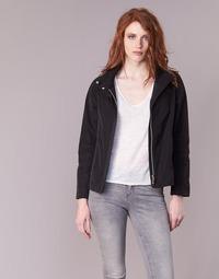 衣服 女士 夹克 Geox 健乐士 PORTCE 黑色