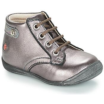 鞋子 女孩 短筒靴 GBB NICOLE 紫罗兰 / 金属光泽