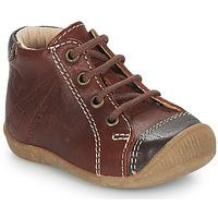鞋子 男孩 短筒靴 GBB NOE 棕色