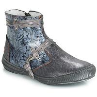 鞋子 女孩 短筒靴 GBB REVA 灰色 / 蓝色