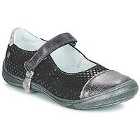 鞋子 女孩 平底鞋 GBB RIKA 黑色 / 银灰色