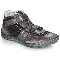 鞋子 女孩 高帮鞋 GBB RIQUETTE 黑色 / 银灰色