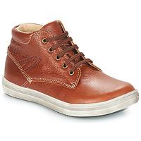 鞋子 男孩 都市靴 GBB NINO Vte / 红棕色
