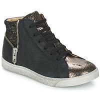 鞋子 女孩 高幫鞋 GBB CARLA 黑色 / 古銅色