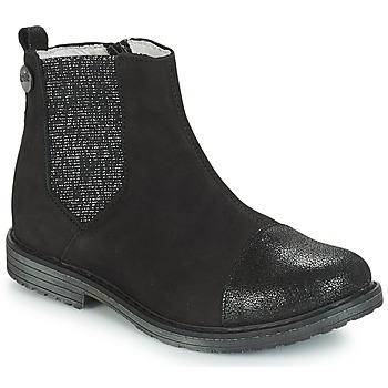 鞋子 女孩 短筒靴 GBB LEONTINA 黑色