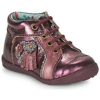 鞋子 女孩 短筒靴 Catimini RAINETTE Vte / 波尔多红