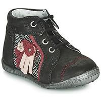 鞋子 女孩 短筒靴 Catimini RAINETTE 黑色 / 银灰色