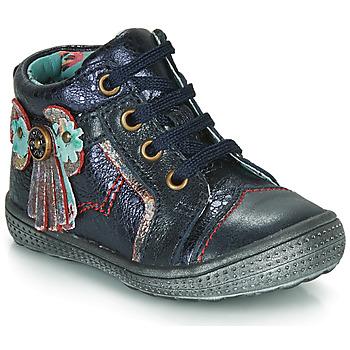 鞋子 女孩 短筒靴 Catimini RHUBARBE Vte / 海蓝色