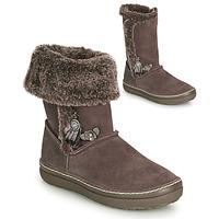 鞋子 女孩 都市靴 Catimini ROMA 木头 / De / 玫瑰色