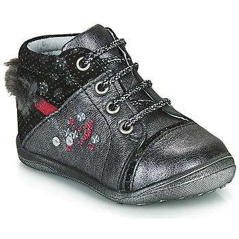 鞋子 女孩 短筒靴 Catimini ROULETTE 灰色 / 银灰色