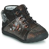 鞋子 女孩 短筒靴 Catimini ROULETTE 黑色