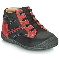 鞋子 男孩 短筒靴 Catimini RATON 黑色 / 红色