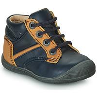 鞋子 男孩 短筒靴 Catimini RATON 海蓝色 / 驼色