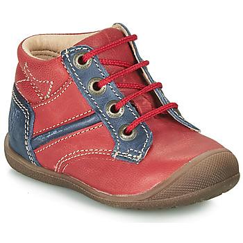 鞋子 男孩 短筒靴 Catimini RATON 红色 / 海蓝色