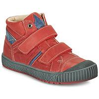 鞋子 男孩 高帮鞋 Catimini RAIFORT 红色